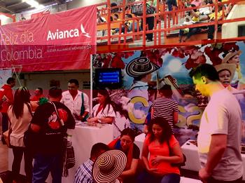 Celebración del Día Nacional de Colombia en la Ciudad de México