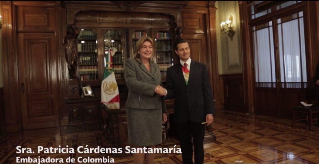 EMBAJADORA DE COLOMBIA EN MEXICO
