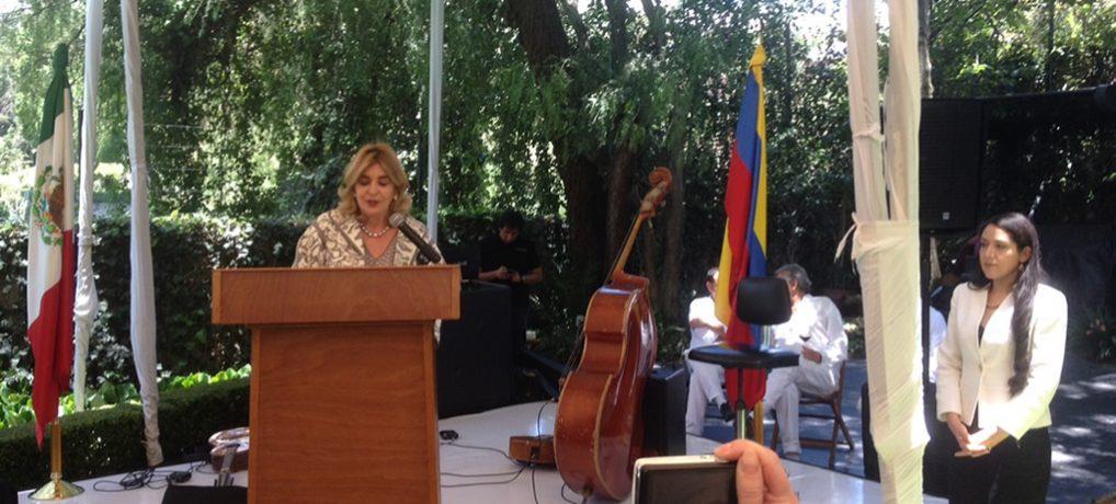 Celebración del Aniversario de la Independencia de Colombia