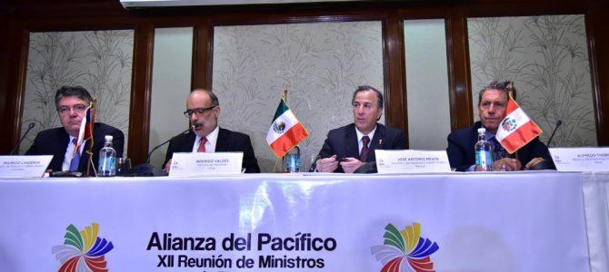 XII Reunión de Ministros de Finanzas de la Alianza del Pacífico