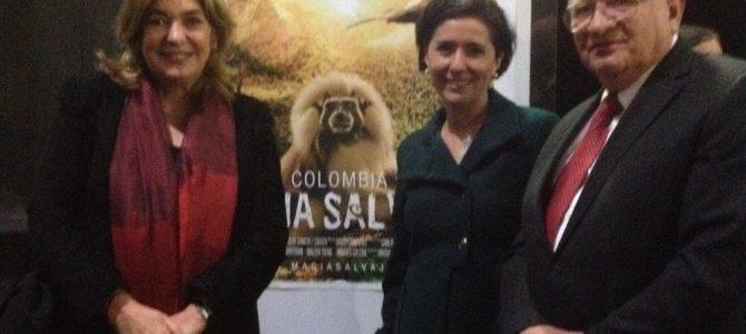 """Proyectan el filme """"Colombia, magia salvaje"""" en la Cineteca Nacional"""