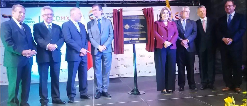 """Celebración en México """"Día nacional de Colombia"""" 20 de julio 2017"""