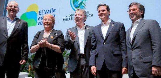 """Líderes de la Alianza del Pacífico se comprometen a ser el """"nuevo Tigre"""" de la economía global"""