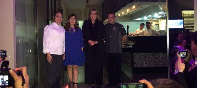 Inaugura la Embajadora Patricia Cárdenas el Festival Gastronómico Colombiano