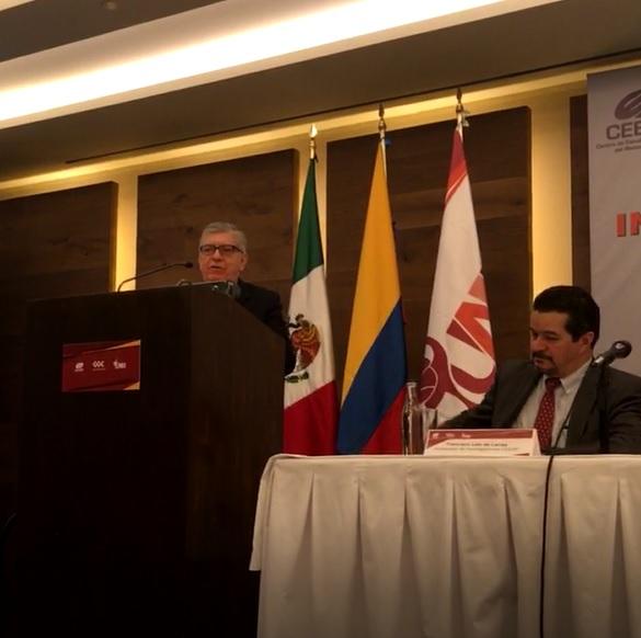 Colombia, Cámara de Comercio México Colombia, Embajada de Colombia