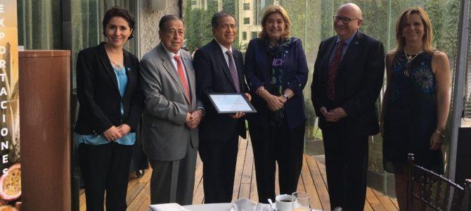 Desayuno conferencia Entorno fiscal de México y expectativas 2018