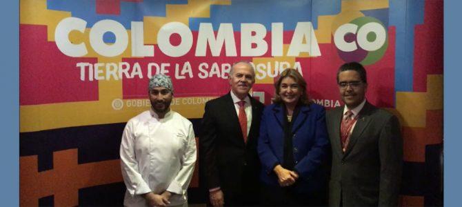 """Inauguración del Festival gastronómico """"Así sabe Colombia"""" 11 de julio"""