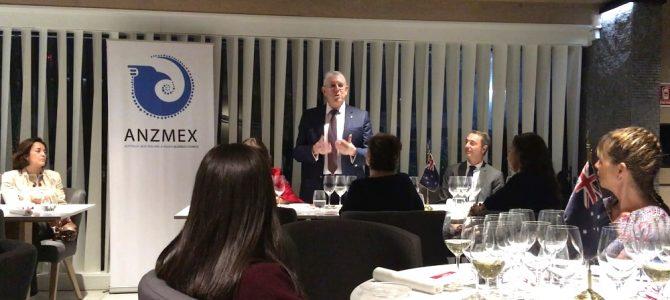 Reunión de cámaras de comercio de Alianza Pacífico; Británica, Italiana, Canadá, Australia y Nueva Zelanda
