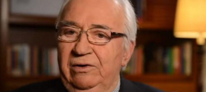 Belisario Betancur, ex Presidente de Colombia, Descanse en paz 