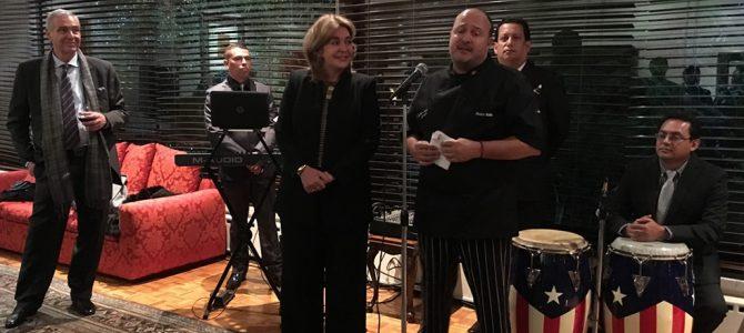 Noche de gastronomía en la Embajada de Colombia con el Chef Álvaro Molina