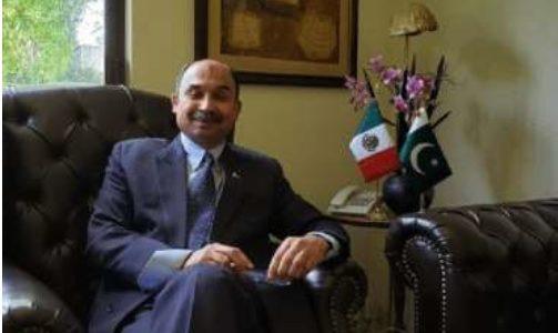 """Entrevista """"Las relaciones entre México y Pakistán van a ser más fuertes"""": Embajador Tasawar Khan"""