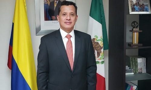 """""""Buscamos la buena migración"""": Luis Oswaldo Parada, cónsul de Colombia en México"""