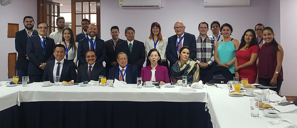 Desayuno conferencia con ProColombia y Embajadores mexicanos