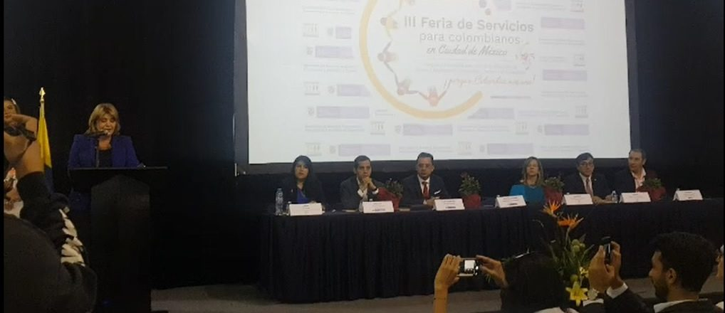 Espléndida III Feria de Servicios para colombianos, 13 y 14 julio, en Expo Reforma