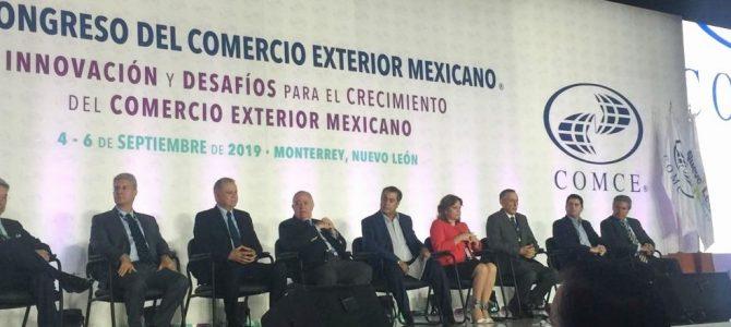 Por la diversificación el XXVI Congreso de Comercio Exterior Mexicano