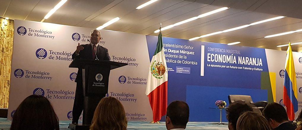 Colombia, país de talento y creatividad: presidente Iván Duque