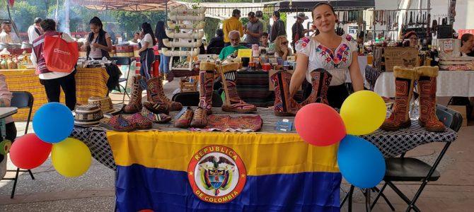 Feria Gastronómica Colombiana en Cuauhtémoc