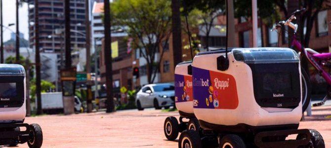 Rappi inicia pruebas de entregas a domicilio con robots repartidores