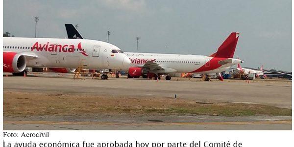 Gobierno de Colombia aprueba US$ 370 millones a Avianca