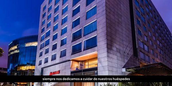 Protocolos de bioseguridad hoteles Marriott