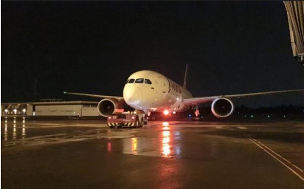 Por primera vez en 100 años, Avianca voló a China con pasajeros